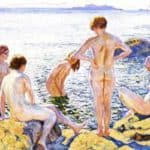 Bathers – Alexey Venetsianov