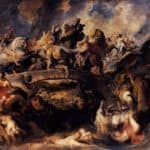 Battle of the Amazons – Peter Paul Rubens