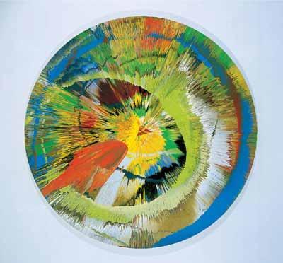 Beautiful Revolving Sphincter - Damien Hirst