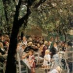 Beer garden in Munchen – Max Liebermann
