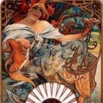 Biscuits Lefevre Utile – Alphonse Mucha
