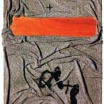 Blanket with tracks  – Antoni Tapies