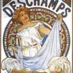 Bleu Deschamps – Alphonse Mucha