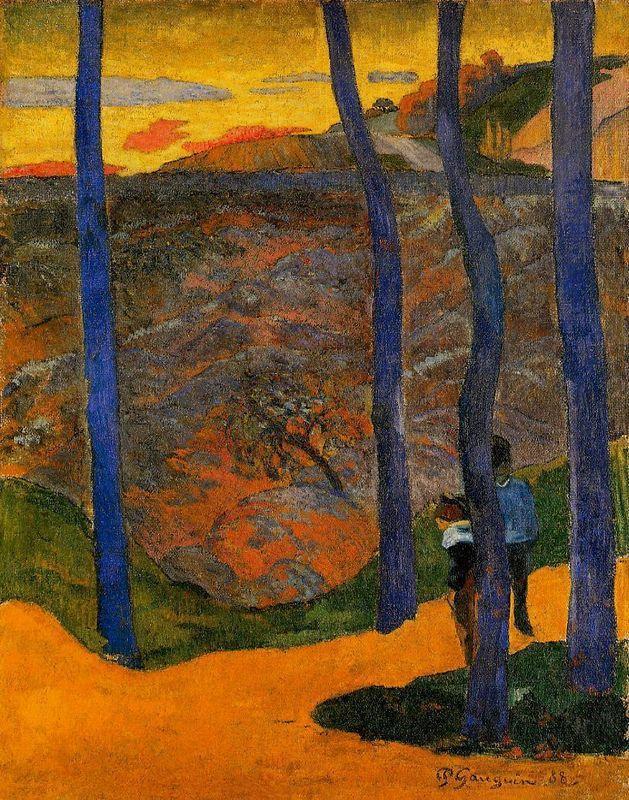 Blue Trees - Paul Gauguin