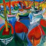 Boats at Martigues – Raoul Dufy