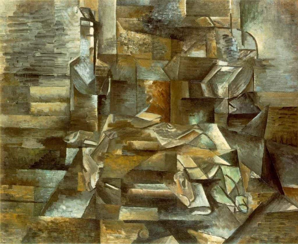 Bottle And Fishes – Georges Braque