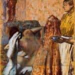 Breakfast after Bath – Edgar Degas
