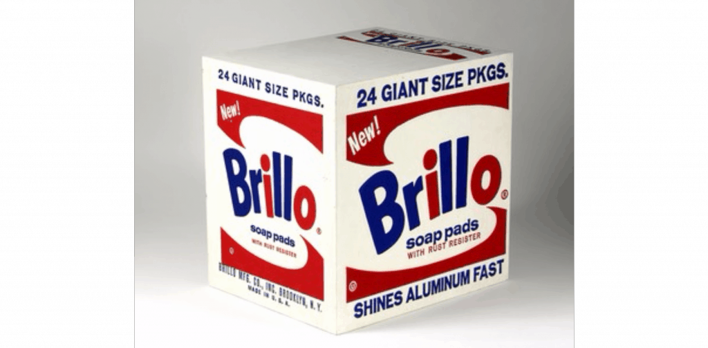 "Andy Warhol Brillo Soap Pads Box , 1964 ""Andy Warhol 
