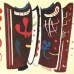 Brown with supplement –  Wassily Kandinsky