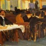 Cafe in Paris  – Amadeo de Souza-Cardoso