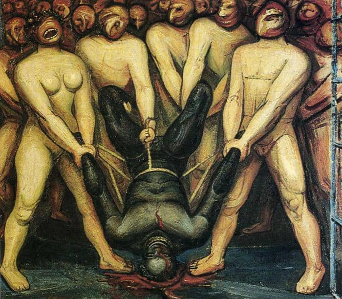 Cain In The United States - David Alfaro Siqueiros