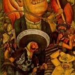 Carnival of Mexican Life. Dictatorship – Diego Rivera