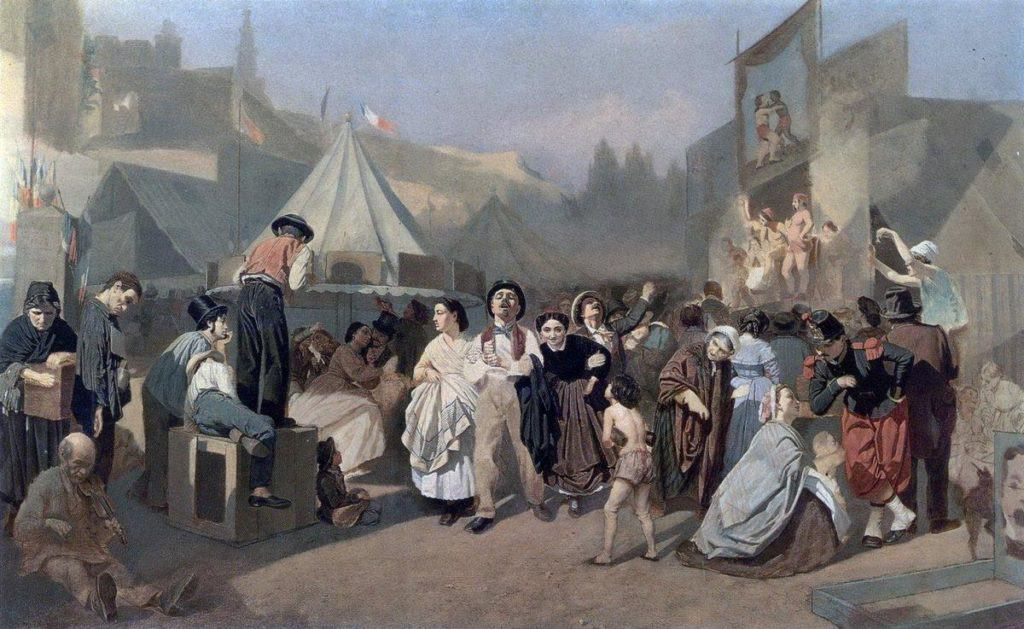 Celebration In The Outskirts of Paris (In Montmartre) - Vasily Perov