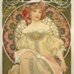 Champagne Printer Publisher – Alphonse Mucha