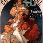 Chocolat Ideal – Alphonse Mucha