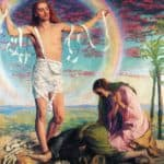 Christ and the two Marys – William Holman Hunt