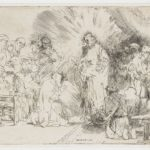Christ appearing to the apostles – Rembrandt