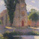 Church at Labastide du Vert – Henri Martin