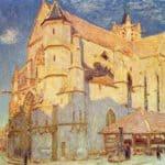 Church of Moret – Alfred Sisley