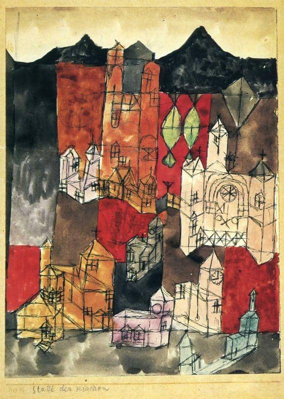 City of Churches - Paul Klee