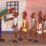 Classroom Scene - William H. Johnson