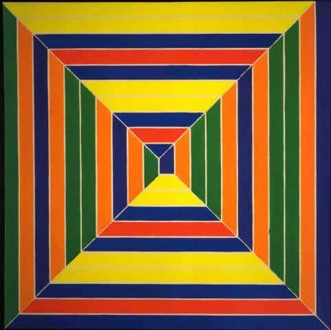 Color Maze - Frank Stella