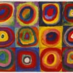 Color Study: Squares with Concentric Circles –  Wassily Kandinsky