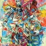 Composition bleu rouge – Alexandre Istrati