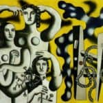 Composition with the three figures – Fernand Leger