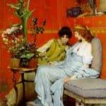 Confidences – Sir Lawrence Alma-Tadema