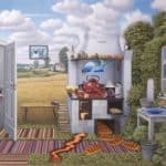 Confusion In The Kitchen – Jacek Yerka