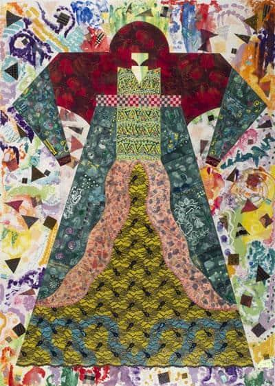Costume for Mother Earth - Miriam Schapiro