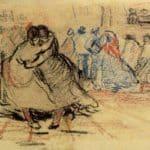 Couple Dancing – Vincent van Gogh