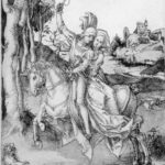 Couple on Horseback – Albrecht Durer