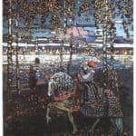 Couple riding –  Wassily Kandinsky