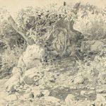 Creek in Gurzuf – Ivan Shishkin