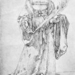 Crowned Holy Martyr – Albrecht Durer