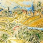 Cubist Landscape with Haystacks – Raoul Dufy