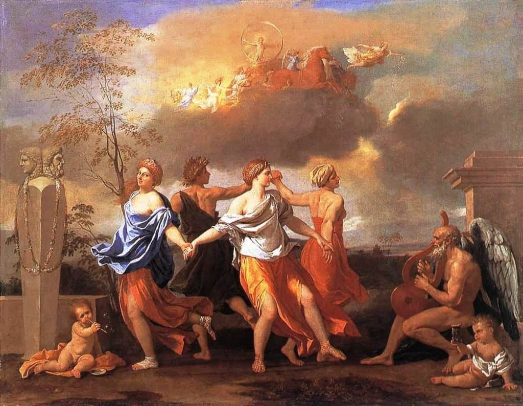 Dance to the Music of Time - Nicolas Poussin