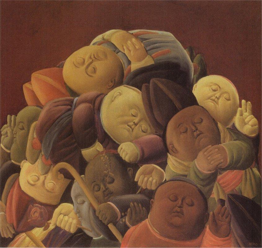 Dead Bishops - Fernando Botero