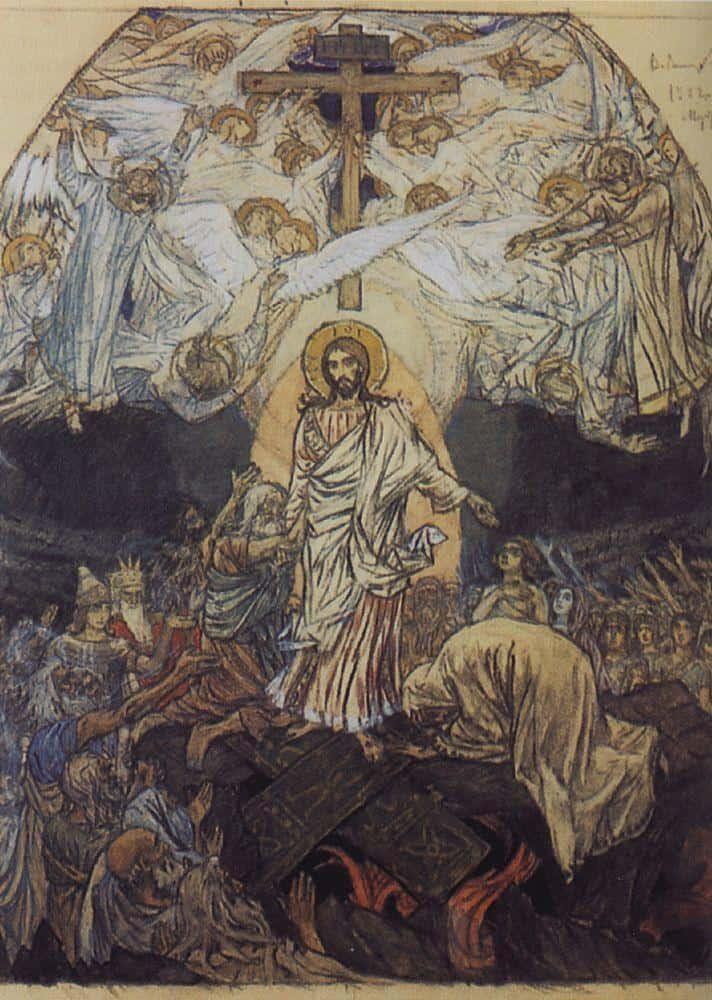 Decent Into Hell -1904 - Viktor Vasnetsov