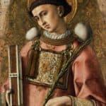 Depiction of Saint Saintephen – Carlo Crivelli