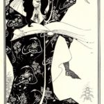 Design for a Frontispiece to 'Virgilius the Sorcerer' – Aubrey Beardsley