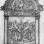 Design for All Saints picture – Albrecht Durer