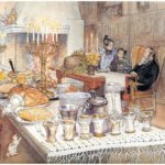 Detail Of Christmas Eve – Carl Larsson