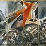 Dive Bomber and Tank – Jose Clemente Orozco