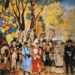 Dream of a Sunday Afternoon in Alameda Park – Diego Rivera