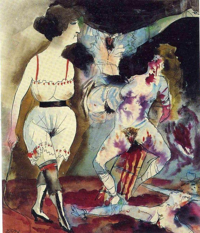 Dream Of The Sadist - Otto Dix