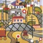 E.F.C.B. (Estrada de Ferro Central do Brasil)  – Tarsila do Amaral