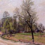 Edge of the Forest in Spring, Evening – Alfred Sisley